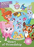 Heart of Friendship: 500 Big Stickers (Disney Whisker Haven Tales With the Palace Pets)