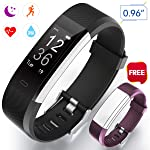Winisok Fitness Armband Herzfrequenz Aktivität Armband IP67 Fitness Tracker Smart Armband Wasserdicht Herzfrequenzmesser...