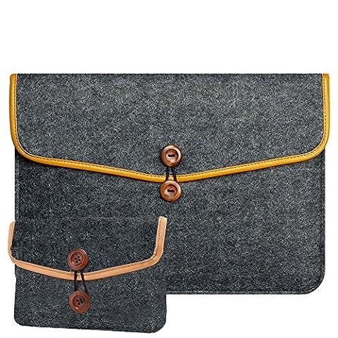 RAINYEAR Protective Mac iPad Pro Felt Sleeve Case Slim Fit