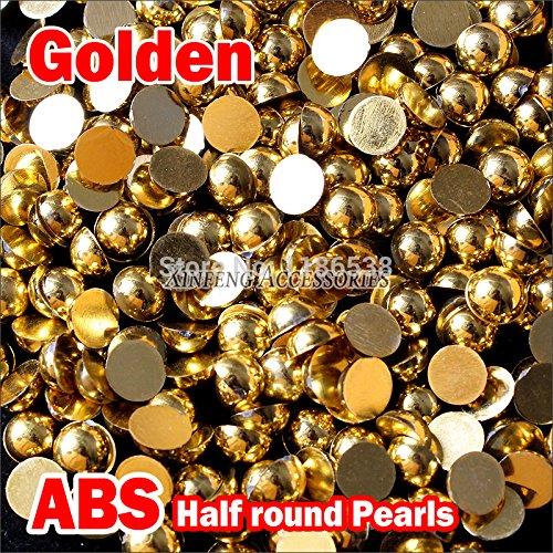 Astonish Perles en Plastique ABS 1,5 mm à 8 mm Accessoires de Bijoux et Cristaux : 4 mm 2000 pièces