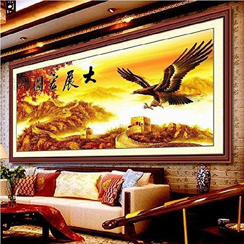 Croce, Aquila, la grande da parete, stile cinese, p0166