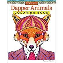 Dapper Animals Coloring Book (Coloring is Fun) (Design Originals) by Thaneeya McArdle (2014-10-01)