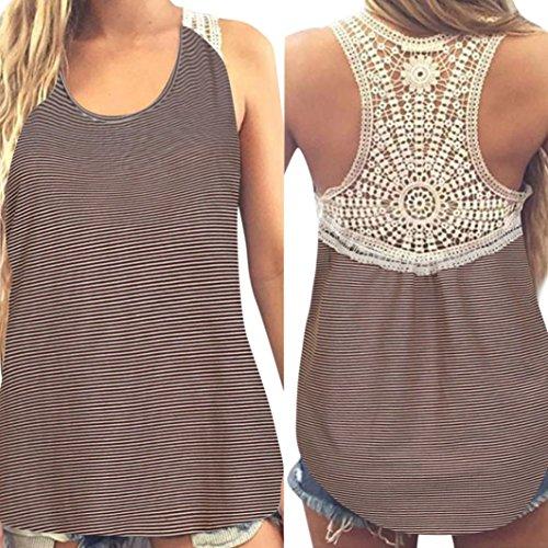 MRULIC Damen Sommer Kurzarm T-Shirt V-Ausschnitt mit Schnürung Vorne Oberteil Tops Bluse Shirt (2XL, Z-Z-Khaki)