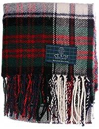 Macdonald Dress Tartan Écharpe – écossais Laine Clan ... cf209845628