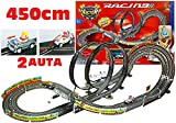 Spur-Auto + 2 Autos Mario RC 452 cm 20 km / h