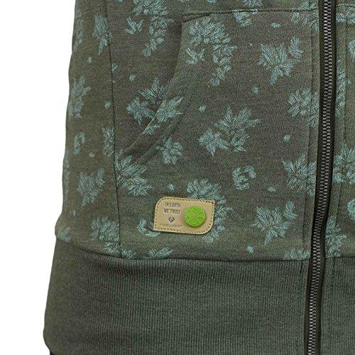 Ragwear Cara Zip Organic Women Zip Hoody Olive