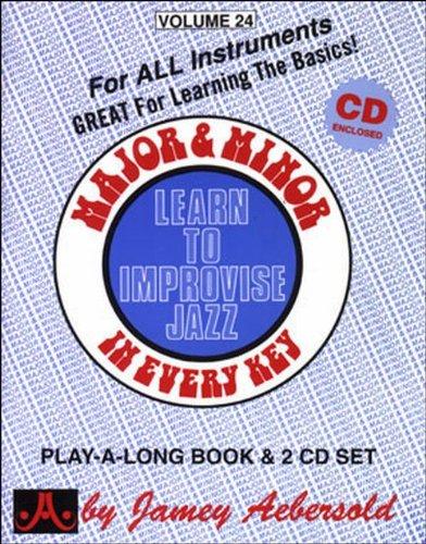 AEBERSOLD JAMEY - Tout instrument- Divers Auteurs - 24 Major And Minor + 2Cd