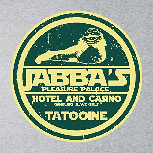 Jabbas Pleasure Palace Star Wars Men's Vest Heather Grey