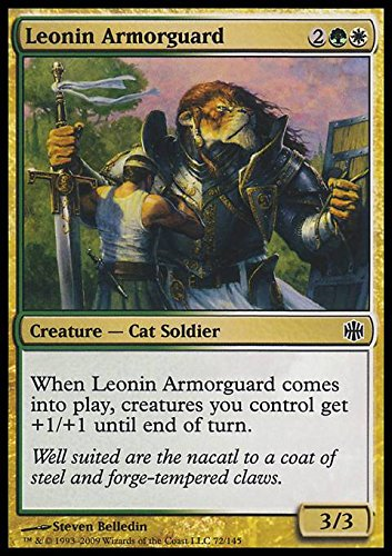 magic-the-gathering-leonin-armorguard-guardia-armata-leonid-alara-reborn-foil