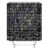 QIANGGAO Benutzerdefinierte DIY Duschvorhang Landschaft Frau Ölgemälde Dickes Polyester wasserdicht Mehltau Duschvorhang, um benutzerdefinierte,2,180 * 200cm