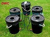 Gowe hdroponics System 4Cloner Bucket Alo. 20L Eimer. DWC. Deep Water Kultur