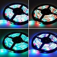 5M 3528 RGB LED Lights Waterproof Muti color Flexible Strip SMD 12V 300 led