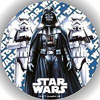 1 Fondant Tortenaufleger Geburtstag  Star Wars  T63