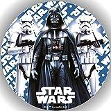 Fondant Tortenaufleger Tortenbild Geburtstag Star Wars T8