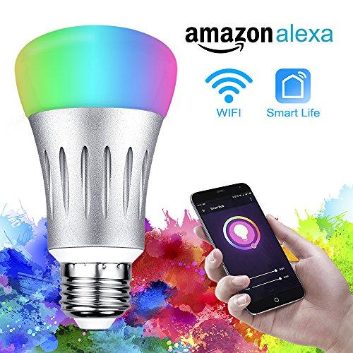 Solocil Lampade Wifi Smart Led Dimmerabili Multicolore Rgb Led