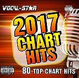 Karaoke 2017 Chart Hits CDG Set de discos de CD + G – 80 canciones sobre 4 discos incluidos el...