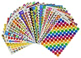 Trend T46913 superSpots and superShapes Stickers (Pack of 9000)