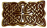 Buckle Keltischer Knoten, messing, Kelten, Kreuz, Gürtelschnalle