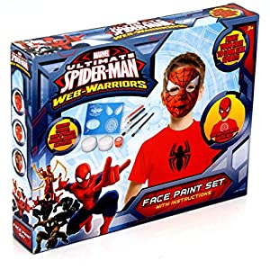 Ultimate Spider-Man Face Paint Set from RMS
