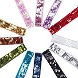 Neotrims Einzigartiges, viereckiges Pailletten Band verziert Trimmen 24mm. indischen Kameez Sari Stickerei, 5Pailletten tief. 12Gorgeous Farben für Bekleidung, Basteln und Home Décor. Schöner, Polyester, silber, 2 m