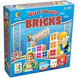 Smart - Bricks, juego de ingenio de madera con retos (51599)