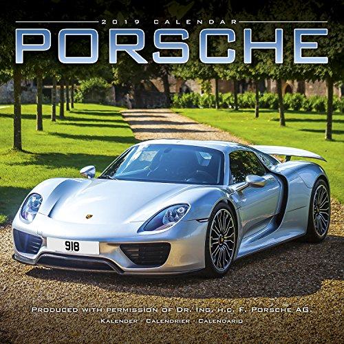 Porsche 2019: Original Avonside-Kalender