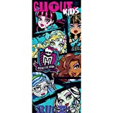 Tür Fototapete Türtapete 91x211 cm Türfolie selbstklebend o. Vlies PREMIUM PLUS - Tür Türposter Türpanel Foto Tapete Bild - MATTEL Monster High Kindertapete Cartoon Puppen Monster Mode - no. 1143, Material:91x211cm Folie (selbstkl.)