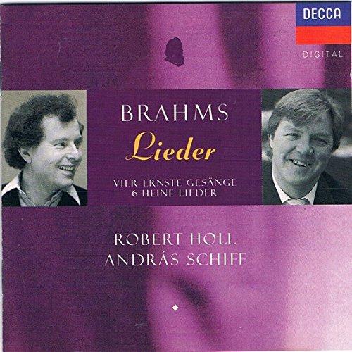 Brahms-Lieder-Robert Holl-Andras Schiff-