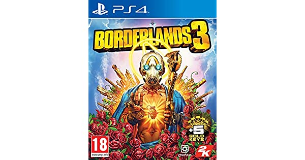 Borderlands 3 with 5 Gold Keys DLC (Exclusive to Amazon co