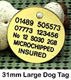 Spoilt Rotten Pets Large 31mm Round Disc. FOR...