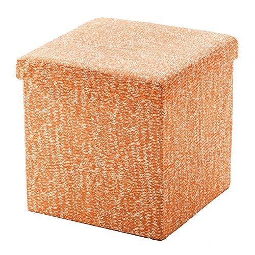 Lagerung Hocker LXF Aufbewahrungsbox Ottoman Linen Toy Box Klappwürfel Hocker Sitz Fußhocker Fußstütze 38 X 38 X 38 cm Zweck Truhe Box