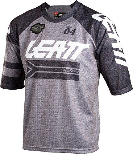 Leatt Brace DBX 3.0 3/4 Sleeve Jersey Men granite Größe S 2018 Trikot kurzärmlig (Jersey-sport-shirt Sleeve 3/4)