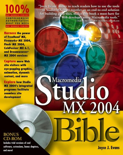 Macromedia Studio MX 2004 Bible (English Edition)