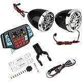 Ebtools Wasserdichte Lcd Motorrad Mp3 Player Radio Lautsprecher Mit Handy Aufladen Auto