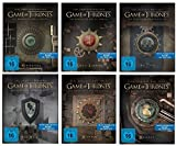Blu-ray Steelbook Set * Game of Thrones Season / Staffel 1+2+3+4+5+6 * 1-6 / Alle 6 mit Magnet Siegel