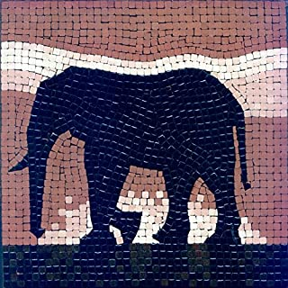 ALEA Mosaic mosaic kit ,20x20cm, Elephant