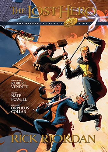 The Lost Hero (Heroes of Olympus Graphic Novels)