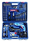 Bosch Mechanic Kit GSB 550-Watt Impact Drill Kit (Blue Range, 122-Pieces)