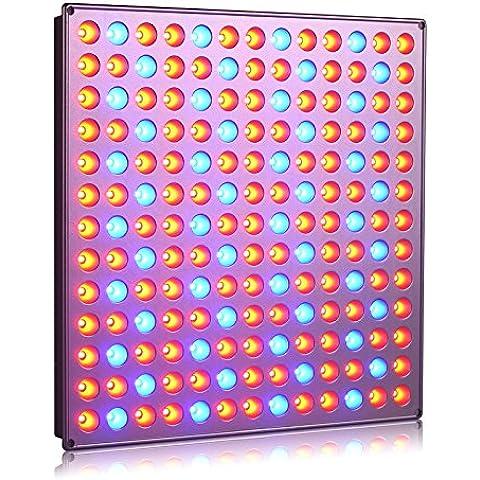 Roleadro Grow Led Luce per Piante 45w Lampada da Coltivazione Indoor Idroponica Con Rosso e Blu Luci in Serra 276mm * 276mm * 14mm