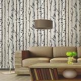 Brewster FD31051Tapete, Motiv: Birkenbaum, naturfarben