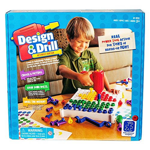 Learning Resources Design & Drill Schraubbrett, (Kinder Nike Jungen Sets)