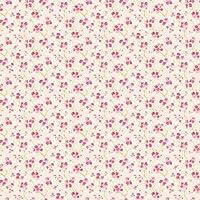 MyTinyWorld Dolls House Miniature Pink Blossom Wallpaper