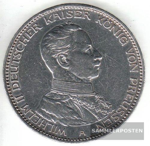 Deutsches Reich Jägernr: 114 1914 A sehr schön Silber 1914 5 Mark Preussen Wilhelm II. (Münzen für Sammler)
