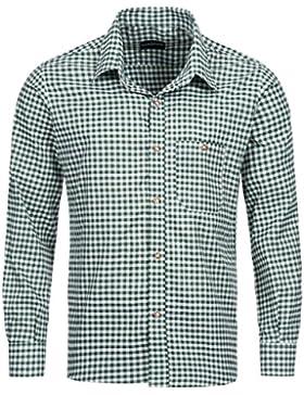 Tracht & Pracht - Herren Baumwolle - Trachtenhemd - Hemd Karo