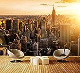 Fototapete New York Vliestapete Wandtapete - Tapete - Moderne Wanddeko - Wandbilder - Fotogeschenke - Wand Dekoration, wandmotiv24, Größe: XL 350 x 245 cm - 7 Teile - Vlies