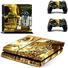 Hytech Plus Lego Star Wars The Force Awakens Theme Sticker For PS4 Console & 2 Controllers