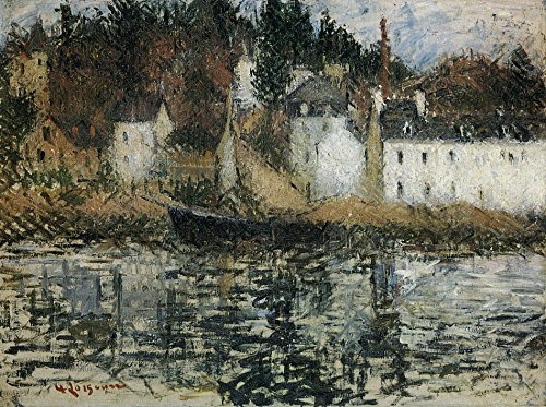 Das Museum Outlet-Die Quay bei von Pont-Aven-Leinwanddruck Online kaufen (101,6x 127cm)