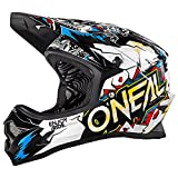 O'Neal Backflip RL2 Youth Evo Villain Casque Vélo, Unisexe Adulte, Mixte Adulte, 0500-V14, Blanc, L