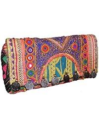 soie ethnique Indien Taj Mahal Art Design Jacquard Femmes Handsac CDmGRiEf