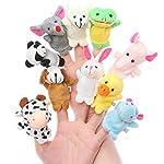 Styleys Animal Finger Puppets - Set of 10